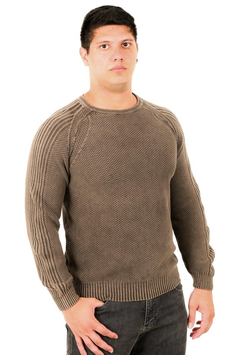 Suéter Tricô Estonado Monte Negro 7165