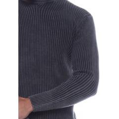 Suéter Masculino Tricô Estonado Madri 7174 -100% Algodão